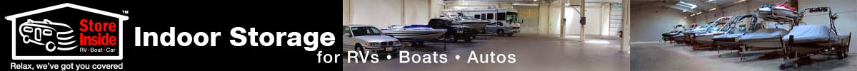 Indoor Storage for Cars, Boats and RVs