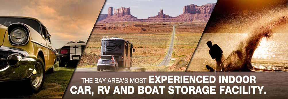 The Bay Areas' most experienced Indoor RV storage, boat storage, and car storage business